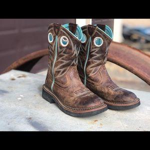 Girls Ariat boots